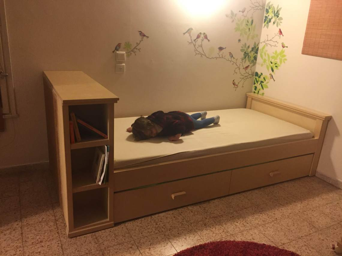 Gadi's new bed
